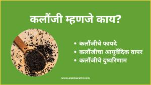 Kalonji meaning in Marathi