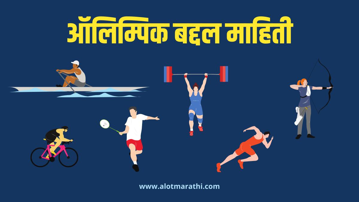 Olympic information in Marathi ऑलिम्पिक माहिती मराठी